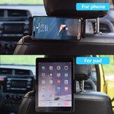 Evrensel Araba Tablet Tutucu Kafalık Koltuk Montaj Standı 4.5-9.4 İnç Tablet Telefon