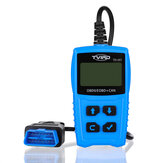 TVIRD Car OBD2 Scanner OBD Diagnostic Tool Engine Fault Code Reader Battery Tester with LCD Display Screen