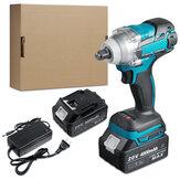 """Avvitatore elettrico senza spazzole da 100-240 V 20 V 520 Nm 4000 giri / min Avvitatore elettrico senza fili da 1/2 """"per batteria Makita"""