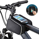 Bicycle Bag Phone Bag Bike Phone Bag With Touchable PVC Screen Waterproof Pouch Riding Accessories
