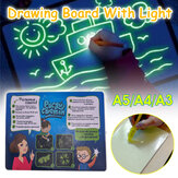 A4 Light Up Drawing Board Draw Sketchpad Board Kids Kids Developing Toy