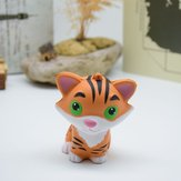 Juguete de rebote lento de la PU Squishy Simulation Cartoon Relief Little Tiger Toy