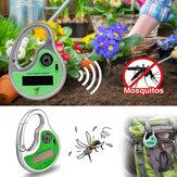 Potência solar portátil exterior do repeller do mosquito da onda sónico do jardim Honana HG-GA2 com compasso