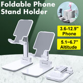 CCT4 Universal Folding Telescopic Desktop Mobile Phone Tablet Holder Stand for iPad Air for iPhone 12 XS 11 Pro POCO X3 NFC