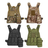Swat Battle Tactical Military Airsoft Combat Assault Carrier Vest