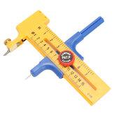 Einstellbare Kompass Kreis Cutter Dia 10mm-150mm Gummi Papier Schnitt Leder Werkzeug