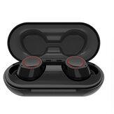 BakeeyTWSBluetoothinalámbrico5.0Auricular Mini Invisible Auto Pairing Bilateral Call Auriculares Estéreo con Carga Caja