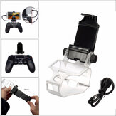 Game Controller Handle Clip Mobiele Telefoon Clamp Holder Met OTG Kabel Voor PS4