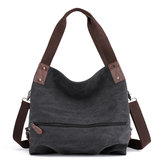 16L Women Canvas Handtas Tote Crossbody Messenger Schoudertas Outdoor Travel