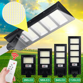 280/560 / 840LED Solar Street Light Timing + Light Control Waterdichte Radarsensor Wandlamp