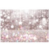 夢の星の写真の背景スタジオの背景布ホームパーティークリスマス