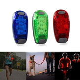 5 LED Running Light Night Cycling Safety Light Bike Taillight Helmets Clip Lamp Super Bright Arm Light