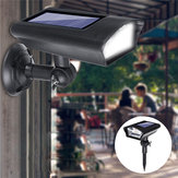 2 in 1 Solar Landscape Spot Light LED Dummy Camera Security Wall Light Sensor Lamp