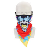 Ice Silk Mask UV Protection Neck Gaiter Scarf Headwear Ear Hook Design Outdoor
