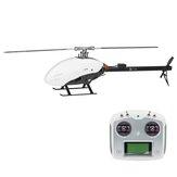 FLY WING FW450 V2 6CH FBL 3D Flying GPS Altitude Hold Retorno com uma tecla RTF de helicóptero com sistema de controle de vôo H1