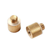 SmallRig 1069 1/4 Inch Female to 3/8 Inch Male Tripod Thread Brass Screw Adapter (2pc per pack)