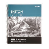 Deli 7698 Professional Art Painting Paper A4 Sketch Paper Sketchbook 40 Pagine / Libro