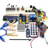 مجموعة المبتدئين Nano 3.0 DIY Kit لـ Arduino IDE مع الحقيبة