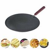 30CM Aluminium Flat Crepe Maker Pan Non Stick Baking Pannenkoek Pan Braadpan
