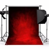 5x7ft Retro Dark Red Theme Photography Vinyl Backdrop Studio Background 2.1m x 1.5m