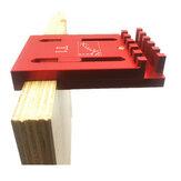 Woodworking Gaps Gauge Depth Measuring Ruler Line Sawtooth Ruler Marking