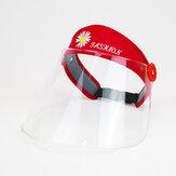 Visage transparent Whield Anti Splash Rain Antipoussière Top Hat vide avec corde coupe-vent pour hommes femmes