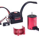 Surpass Hobby 3650 3600KV RC Car Motor + 45a Waterproof ESC 2-3S For 1/10 RC Models Drift