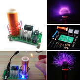 3pcs DIY Mini Tesla Coil Module Unassembled 15W DC 15-24V 2A Plasma Speaker Electronic Kit