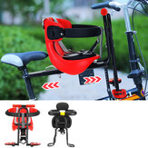 Folding Child Bicycle Safety Seat Mountain Road Bike Front Chair Saddle Kids Soft Cushion