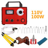 100W 110V Gourd Wood Multifunction Pyrography Tools Machine Heating Wire Pen Kit Tool