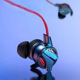 Baseus H15 3.5mm com fio jogos de alta fidelidade fone de ouvido fones de ouvido estéreo de música com microfone