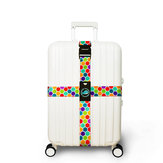 Honana Colorful Cross Luggage Strap Suitcase Belts Travel Tags Accessories Fit for 20