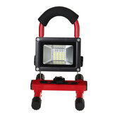 60W 3200LM LED Worklight Portable Rechargeable Flood Spotlight Cordless Battery
