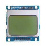 5110 LCD Screen Display Module SPI Compatible With 3310 LCD Geekcreit for Arduino - products that work with official Arduino boards