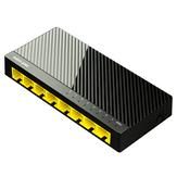 netcore S8G 8-портовый гигабитный сетевой коммутатор настенный Ethernet-коммутатор для мониторинга сети Plug and play