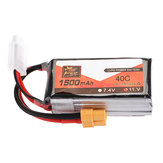 ZOP Power 11.1V 1500mAh 40C 3S Lipo Batteri XT60 Plug