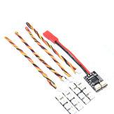 AuroraRC 4 Bits WS2812B RGB5050 LED Placa 5V com Placa de Controle 2-6 S Para F3 F4 FPV Corrida RC Zangão
