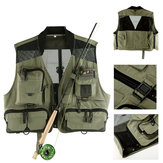 Maxcatch Mesh Fly Fishing Vest Hunting Photographing Waistcoat Multifunctional Pocket Jackets