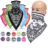 Vent poussière UV soleil écharpe couverture cou couverture cagoule cyclisme chasse pêche coupe-vent masque facial bandana écharpe