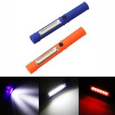 5 Watt Tragbare Mini LED COB Inspektion Arbeit Stift Licht Batterie Powered Magnet Camping Taschenlampe