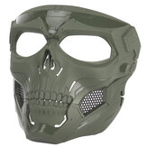 Halloween Skull Tactical Airsoft Mask Paintball CS Military Protective Full Face Helmet