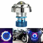 12V LED Projector Kit Hi / Low Beam Koplamp Angel Devil Eye Motorcycle