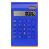 Electronic Solar Dual Power Calculator Ultra Thin 10 Digits Desktop Calculator For Office School Use