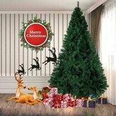 2.1m Yeşil Yapay Noel Ağacı Katı Stand Tatil Ev Dekorasyonu