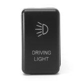 Interruptor de botão de pressão de LED Barra de luz dianteira de condução Ford e Mazda BT50 Interruptor de botão de pressão LED de barra de luz