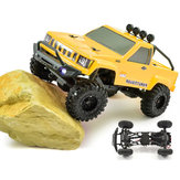 RGT RC Bil 1/24 136240 4WD 4x4 Lipo Mini Monster Off Road Truck RTR Rock Crawler Med Lights