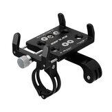 GUB G-89 60-100 mm Fahrradtelefonhalter Aluminiumlegierung 270 ° Drehung Fahrrad Motorrad Telefonhalterung Radfahren