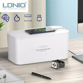 LDNIO 2500W Power Strip Socket Storage Box With 5-Port Universal AC Outlets & 3-Port USB Chargers