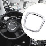 Aluminium Alloy Car Steering Wheel Sticker Body Emblem Trim for Audi A3/A4/A5/Q5/Q7