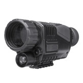 5x40 Digital Night Vision Monocular FMC Infrared Telescope Video Camera Telephoto Support